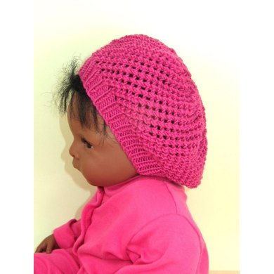 Baby Simple Lacey Tam Slouch hat