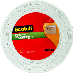 "3M Scotch(R) Double-Sided Foam Mounting Tape - .75""X38yd"