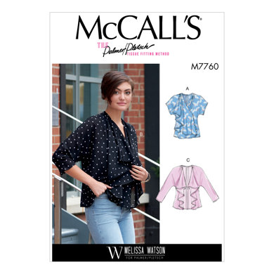 McCall's Misses' Vest and Jackets M7760 - Sewing Pattern