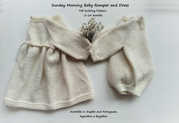 SET Sunday Morning Baby Dress and Romper