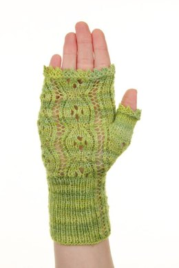 Yo-Yo a Go-Go Fingerless Mitts