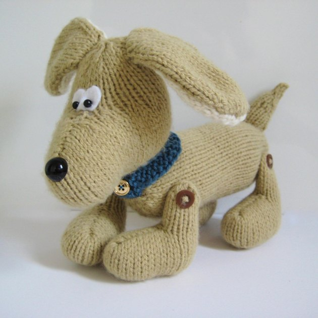 Biscuit the Dog Knitting pattern by Amanda Berry ...