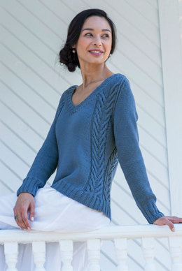 Leisl Pullover in Berroco Modern Cotton - 3-13