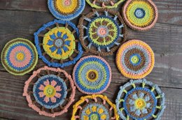 Happy Wheel Applique (two motifs)