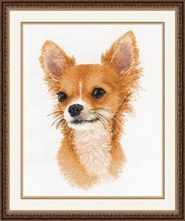 Oven Little Friend - Chihuahua Cross Stitch Kit