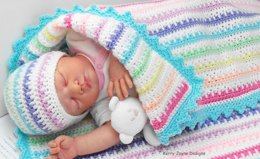 Ice cream Baby blanket