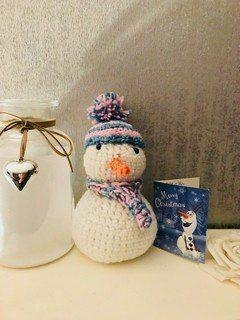 Chilly The Snowman Crochet