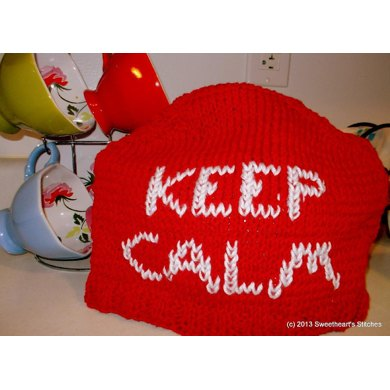 Keep Calm, Carry On Tea Cozy