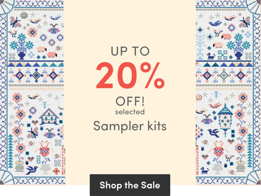 Up to 20 percent off selected Sampler kits