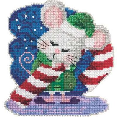 Mill Hill Candy Cane Cross Stitch Kit