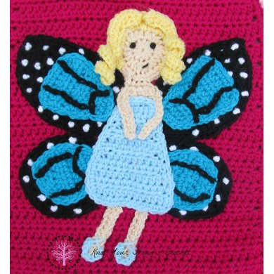 Butterfly Fairy Applique