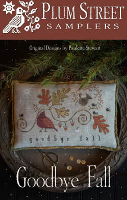 Plum Street Samplers Goodbye Fall - PL150 -  Leaflet