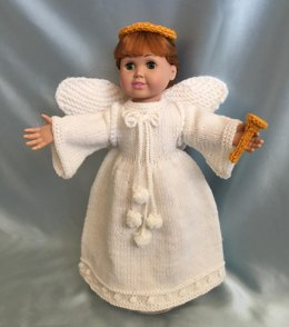 Heavenly Angels, Knitting Patterns fit American Girl and other 18-Inch Dolls