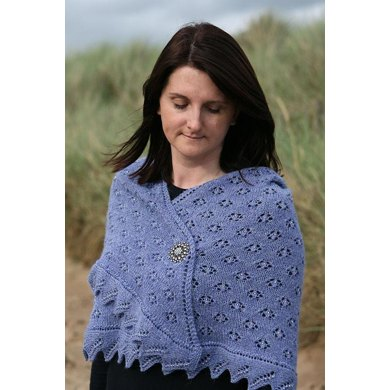 Forget-Me-Not Shawl