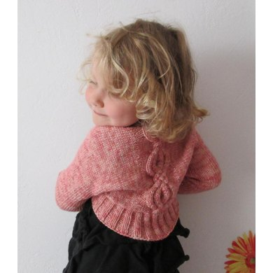 Ballet Shrug Knitting Pattern : Ballet Slippers Shrug Knitting pattern by Hope Vickman Knitting Patterns ...