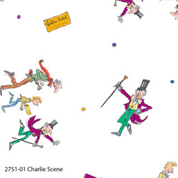 Craft Cotton Company Charlie and the Chocolate Factory - Charlie Scene