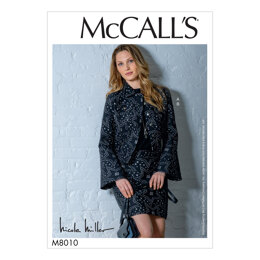 McCall's Misses' Jacket and Skirt M8010 - Sewing Pattern