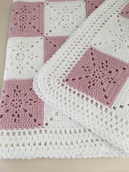 Crochet Blanket - Baby - Arielle's Square