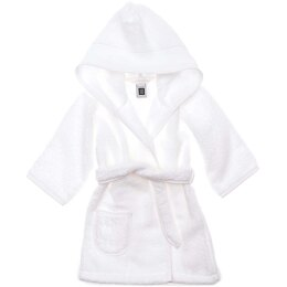 Rico White Bath Robe - 18 months - White