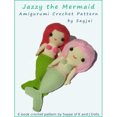 Jazzy the Mermaid - Amigurumi - Crochet Pattern