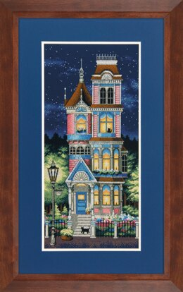 Dimensions Victorian Charm Cross Stitch Kit - 20cm x 43cm
