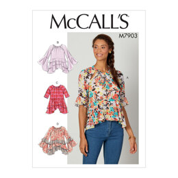 McCall's Misses' Tops M7903 - Sewing Pattern