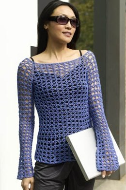 Paris Crochet Tunic in Tahki Yarns Cotton Classic Lite
