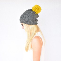 The Krysta Super Slouchy Hat