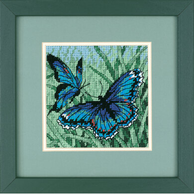 Dimensions Butterfly Duo Tapestry Kit - 13 x 13 cm