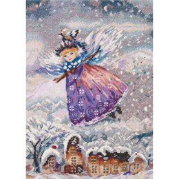 PANNA Winter Angel Cross Stitch Kit