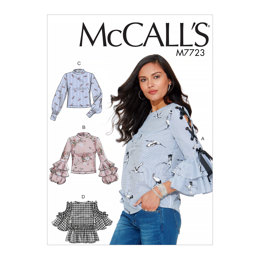 McCall's Misses' Tops M7723 - Sewing Pattern