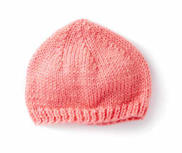 Wee Knit Cap in Caron Simply Soft Collection - Downloadable PDF