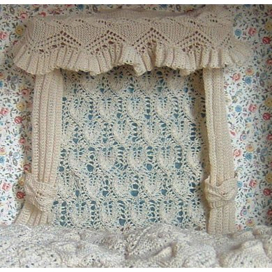 1:12th scale Apricot Leaf Curtains