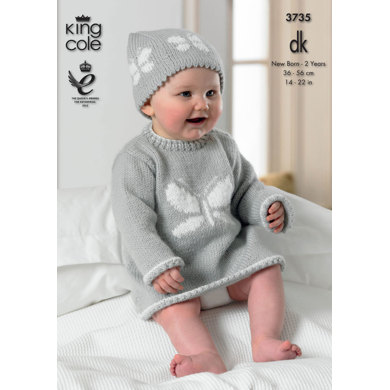 Baby Set in King Cole Comfort Baby DK - 3735