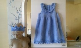 Little Princess dress and crown