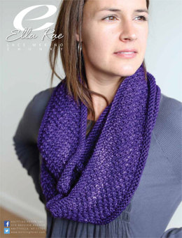 Infinity Scarf in Ella Rae Lace Merino Chunky - ER13-03 - Downloadable PDF