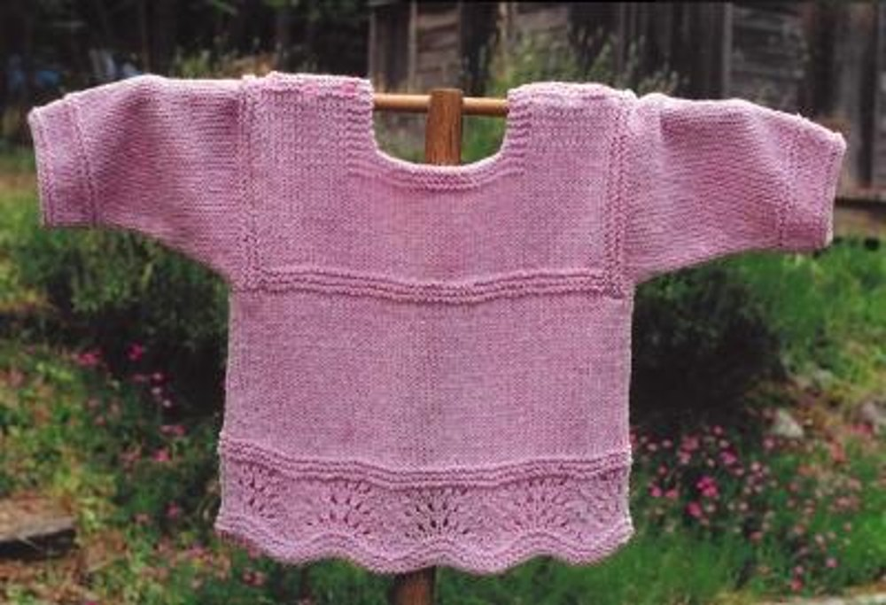 T Shirt Knitting Pattern : Victorian T-Shirt Knitting pattern by Oat Couture