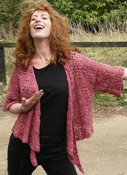 Millicent Crochet Cardigan