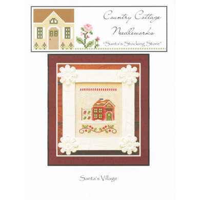 Country Cottage Needleworks Santa's Stocking Store Chart