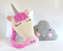 Unicorn and Cloud Pillows