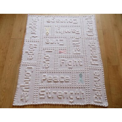Cancer Support One-piece Lap Blanket