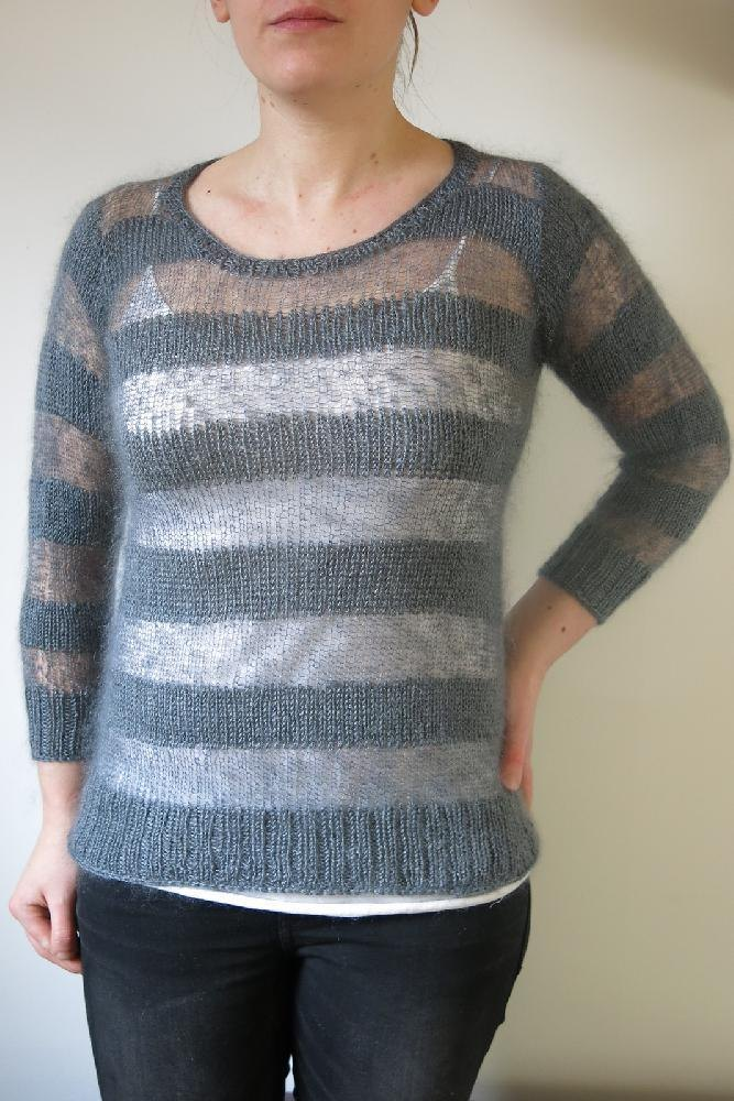 Mountain Everlasting Sweater Knitting Pattern By Littletheorem