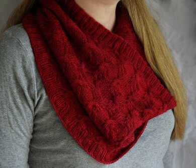 Fiddleback Cowl and Hat