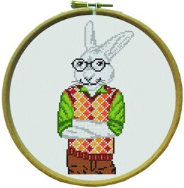 Margot Victor - The Rabbit Cross Stitch Kit - Multi