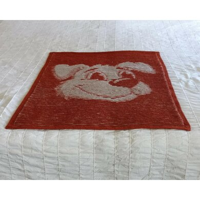Canis Minor Illusion Baby Blanket