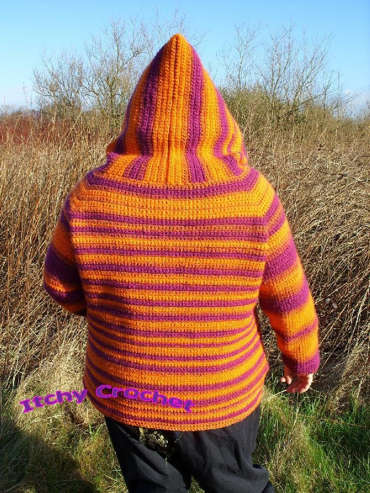 Donna Hoodie Crochet Pattern By Itchy Crochet