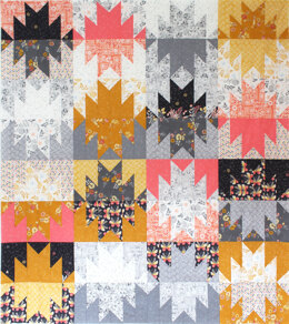 Michael Miller Fabrics Giant Peeks Quilt - Downloadable PDF