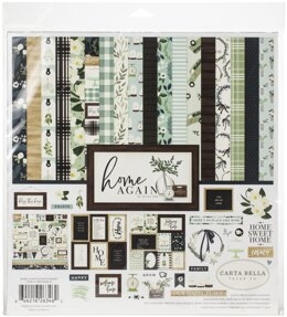 "Echo Park Paper Carta Bella Collection Kit 12""X12"" - Home Again"