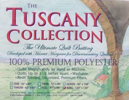 Hobbs Batting Tuscany Polyester 120in x 120in King