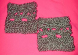 #2 Creepy Skull Boot Cuffs